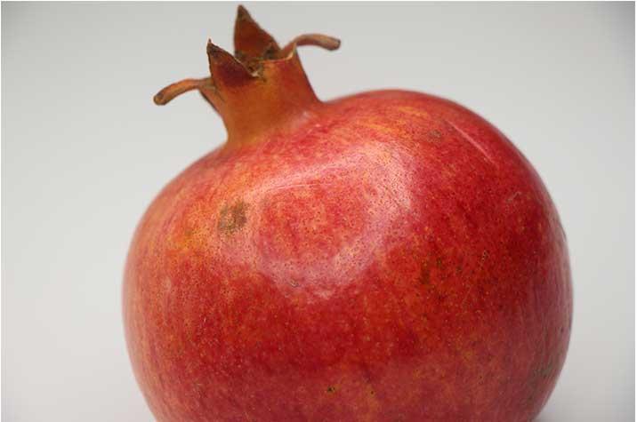 Granatapfel geschlossen