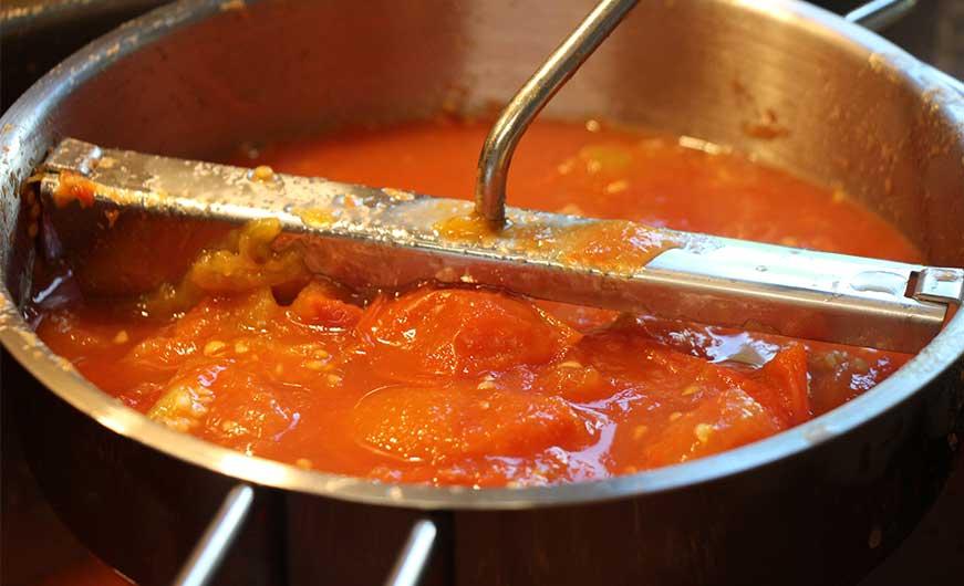 passiermühle frische tomaten