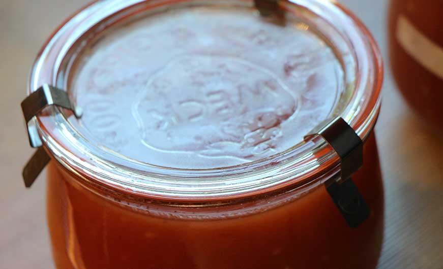 passierte tomaten im weckglas