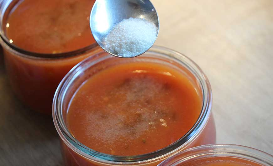 passierte tomaten verfeinert