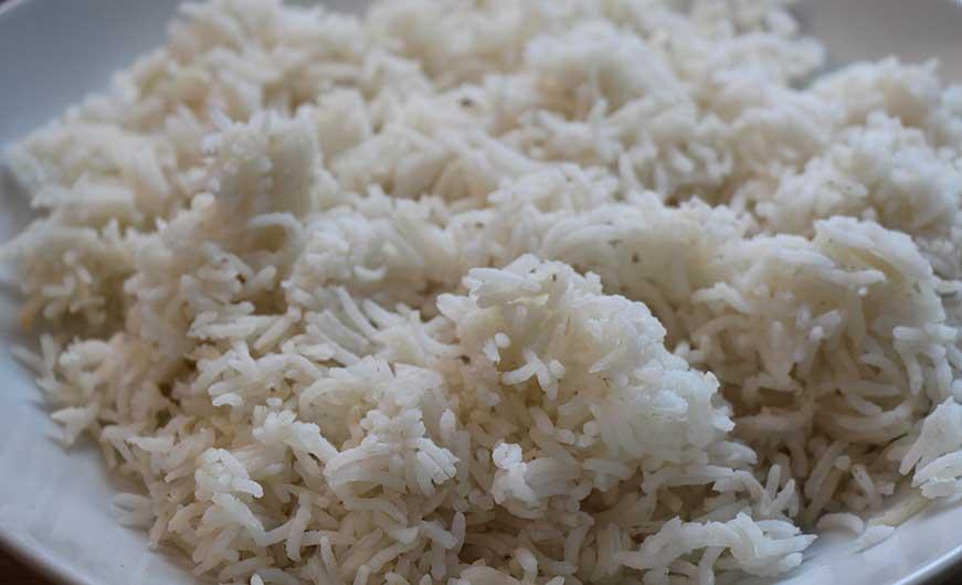 Reis abgekocht