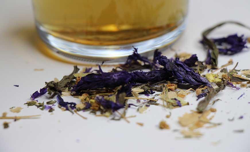 Teemischung bei husten vor zubereiteten Tee