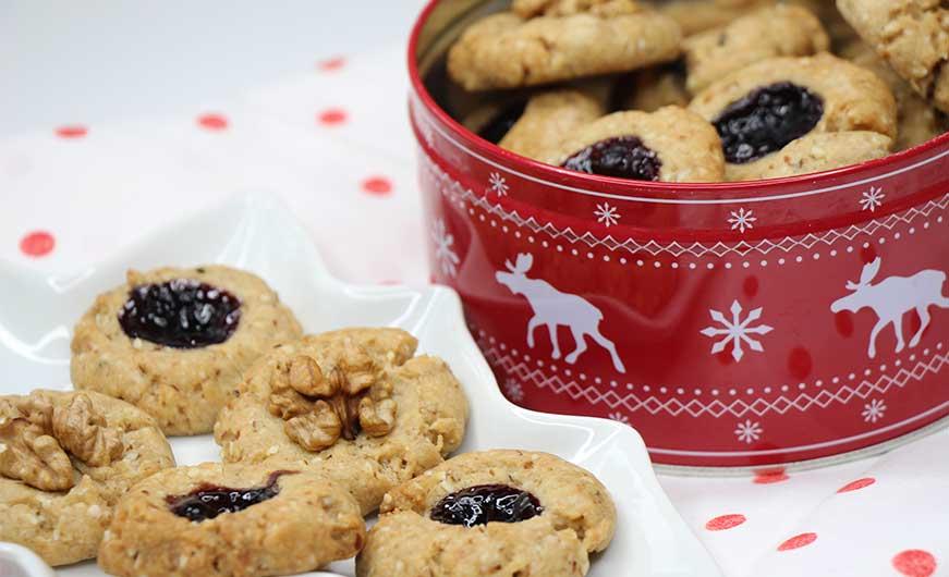 fertige vegane Kekse