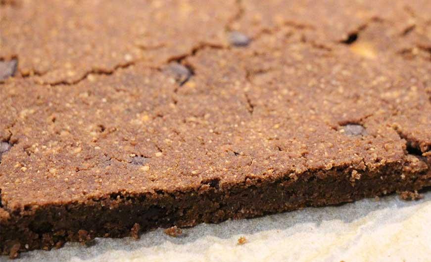 brownie gebacken